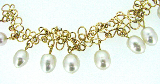 South sea Pearl necklace NZ