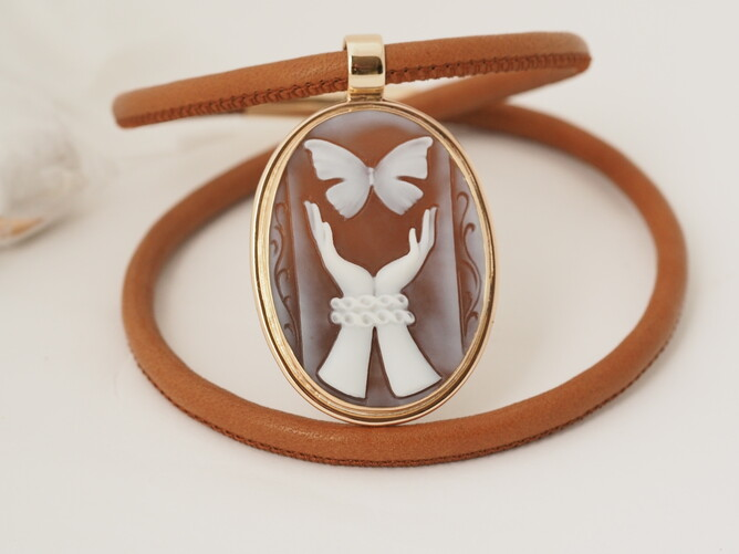 Cameo's in NZ, handmade jewellery