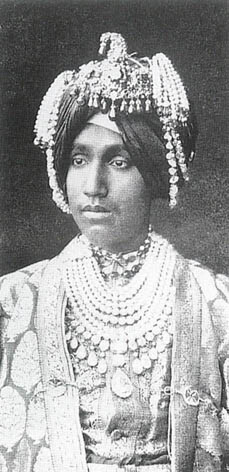 A Maharaja of Northern India