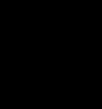 Flower ring of 18ct yellow and white gold with marquise sapphires and round diamonds. Commission piece, sold.