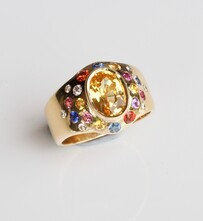 Ring - Colourful Sapphires